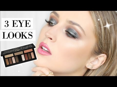 3 LOOKS USING KAT VON D SHADE LIGHT EYE PALETTE | allanaramaa thumbnail