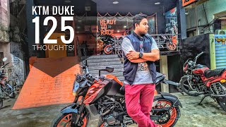 KTM Duke 125 !!! what you need to know