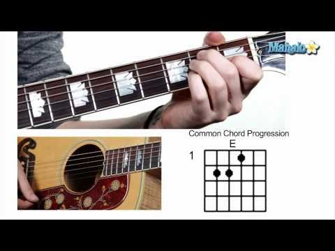 How to Play Common Chord Progression 145 on Guitar