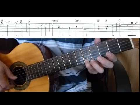 We Are The Champions - Queen- Easy Guitar melody tutorial + TAB