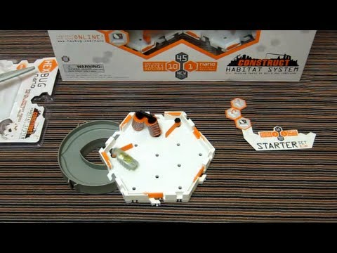 HexBug Nano Construct Starter Set - Hands on Review - Double Roller Set - Rarer Vertical Rollers