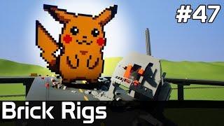 Brick Rigs PL [#47] POKEMON i Star Wars w BRICK RIGS? /z Plaga