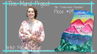 """""""Watermelon Mountains"""" by Megan Craig 
