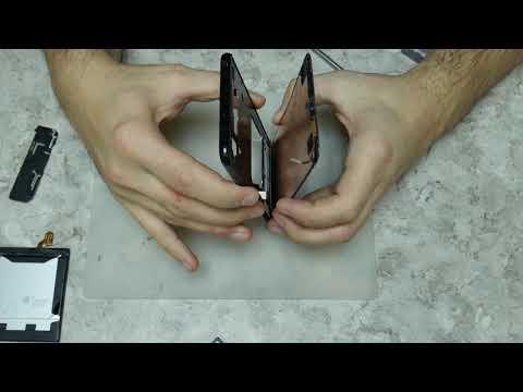 LG V30+//  Замена дисплея. LG OLED - тонкий как бумага.