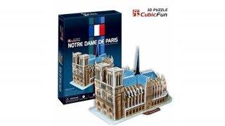 Puzzle 3D de la Catedral de Notre Dame