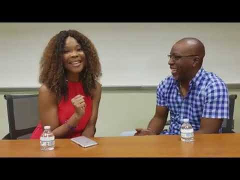 Busta Brown interviews Angela Robinson, aka villainess Veronica Harrington, for The Chronicle