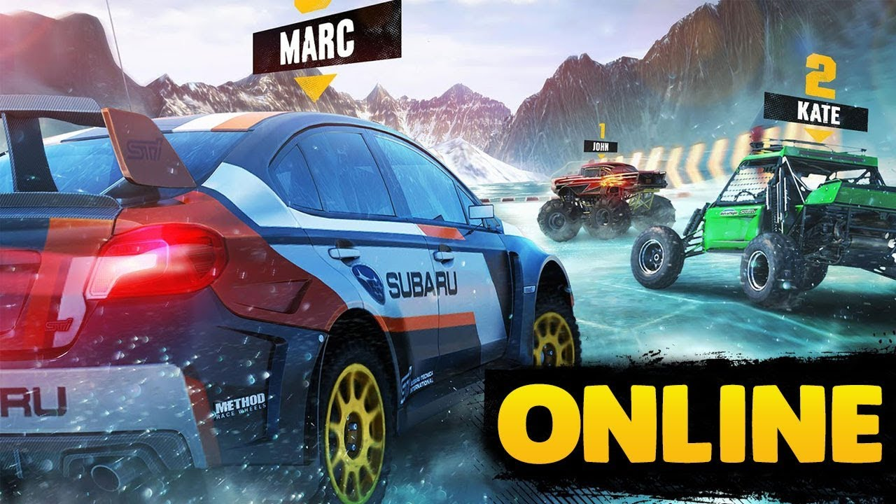 Top 10 Online Multiplayer Racing Games For Android Ios 2018 Youtube