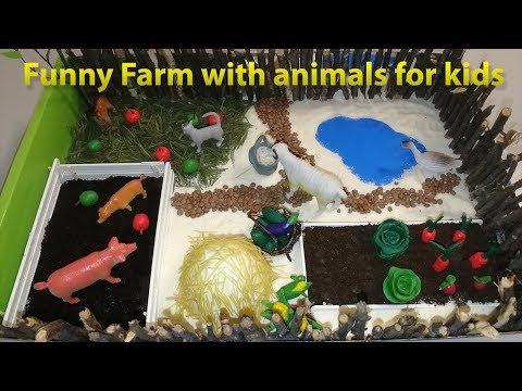 Макет домашние животные для детского сада своими руками
