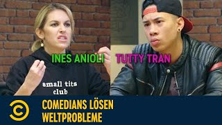 Comedians lösen Weltprobleme - mit Ines & Tutty  Männliche Privilegien   Comedy Central DE