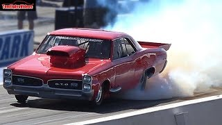 Hollywood Bobby s GTO Takes on the Fastest Drag Racers at Street Outlaws No Prep Kings