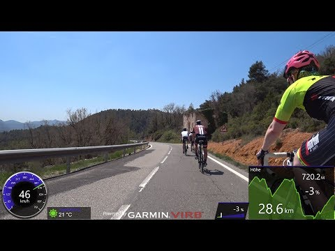 90 Minute Garmin Sunshine Indoor Cycling Training Catalonia Spain 4K Uncut Part 2