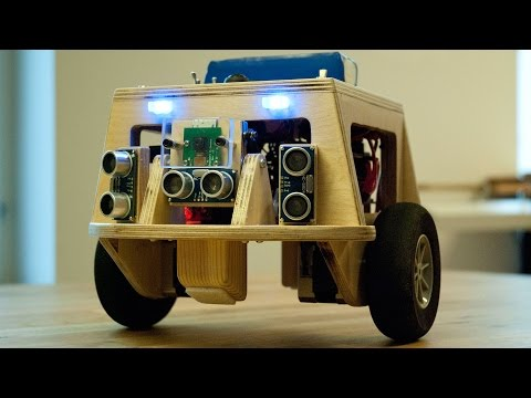 Balancing robot video 2 - Simple remote control and RasPi