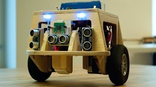 Balancing robot video 2 - Simple remote control and RasPi camera test