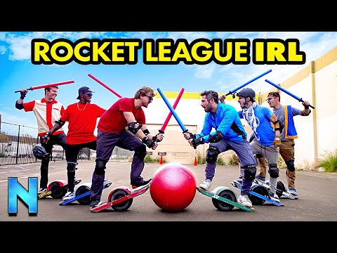 REAL-LIFE ROCKET LEAGUE With OneWheels!