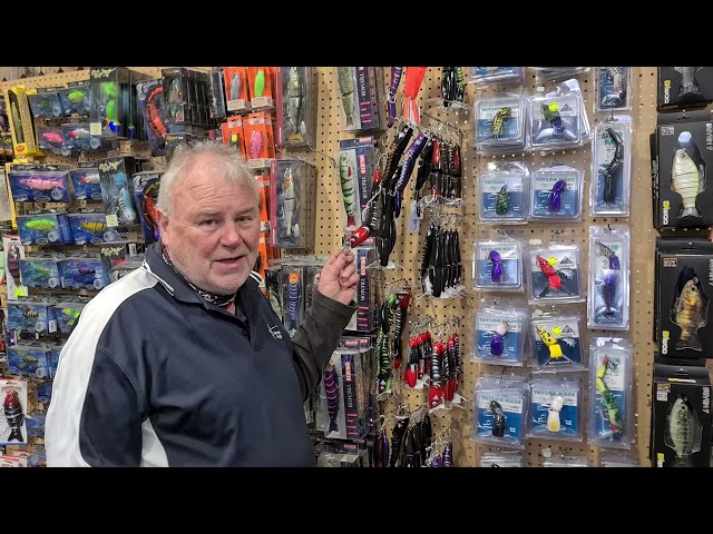 Australian made lures at Compleat Angler Wagga