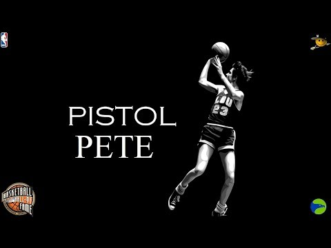 """Pistol"" Pete Maravich (The Innovator of Showmanship) NBA Legends"