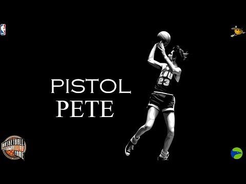 """Pistol"" Pete Maravich (The Innovator of Showmanship) NBA Legends"