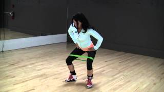 Mini Band Exercise Series for Glute Activation