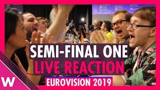 Eurovision 2019: Live reaction to Semi-Final 1 Qualifiers | wiwibloggs