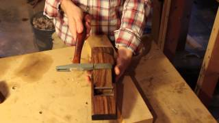 How To Set Up A Wooden Smoothing Plane