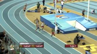 800м Финал Мужчины - ЧМ в помещении Стамбул 2012