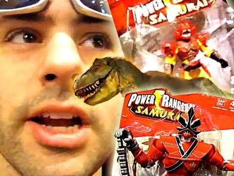 Power Rangers Samurai At Toys R Us Times Square! (Nov 2011)