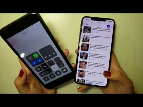 How to unlock screen rotate on iphone xs max