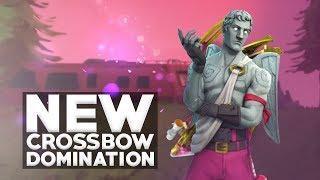 EPIC CROSSBOW HEADSHOT! - Fortnite Battle Royale Crossbow Update