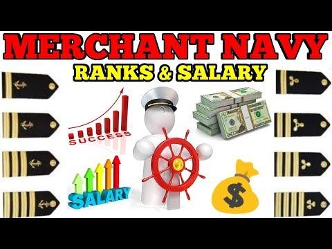 Merchant navy Ranks & Salary full details in Hindi 2019
