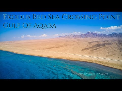 Gulf of Aqaba - Red Sea Crossing Exodus 14