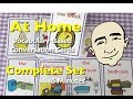 At Home: Family Members, Greetings, Rooms, Items and Actions | Vocabulary-Based Cards | ESL