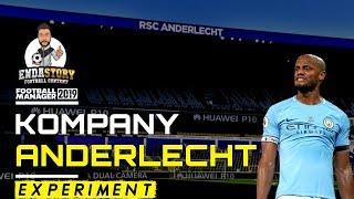 Vincent Kompany Anderlecht Manager - Football Manger Experiment