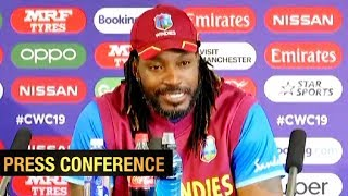 """Gayle says he's """"one of the greats"""" as West Indies look ahead to World Cup clash against India"""