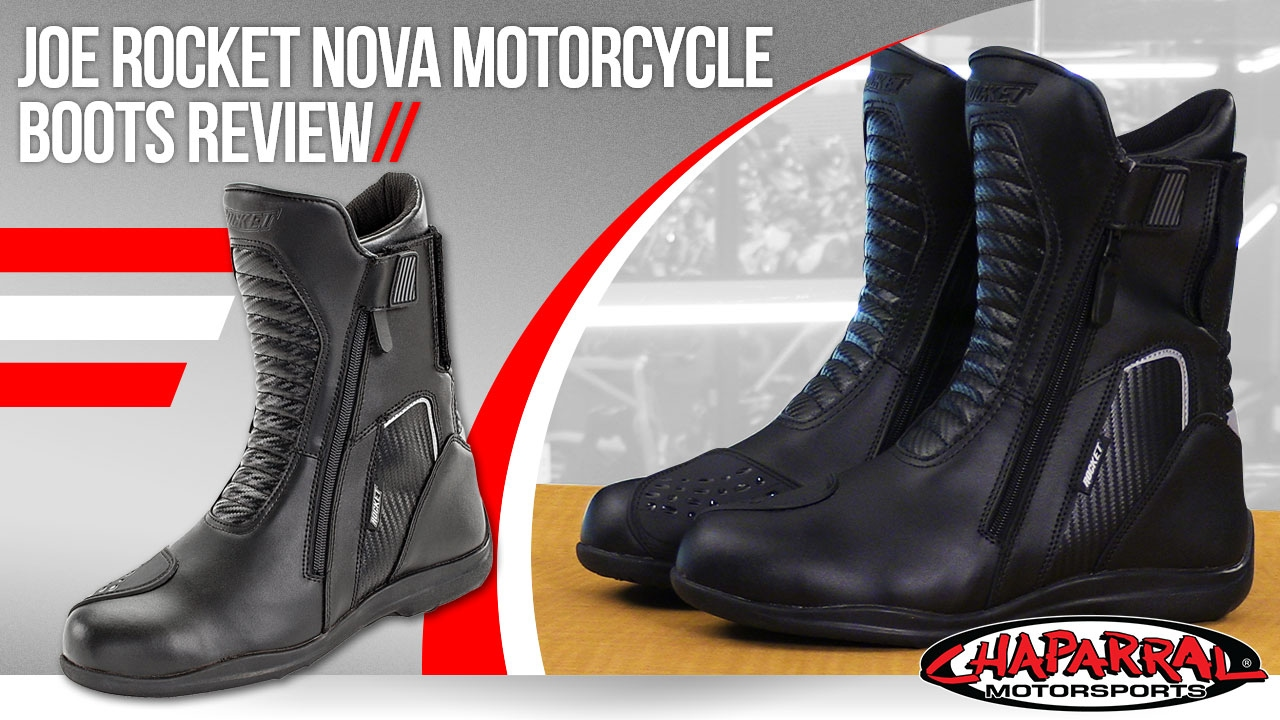 b1b11bdaa0f Joe Rocket Nova Motorcycle Boots Review