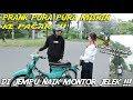 PRANK PURA2 MISKIN KE PACAR !!! DI JEMPUT NAIK MOTOR JELEK !!?-PRANK GOLD DIGGER