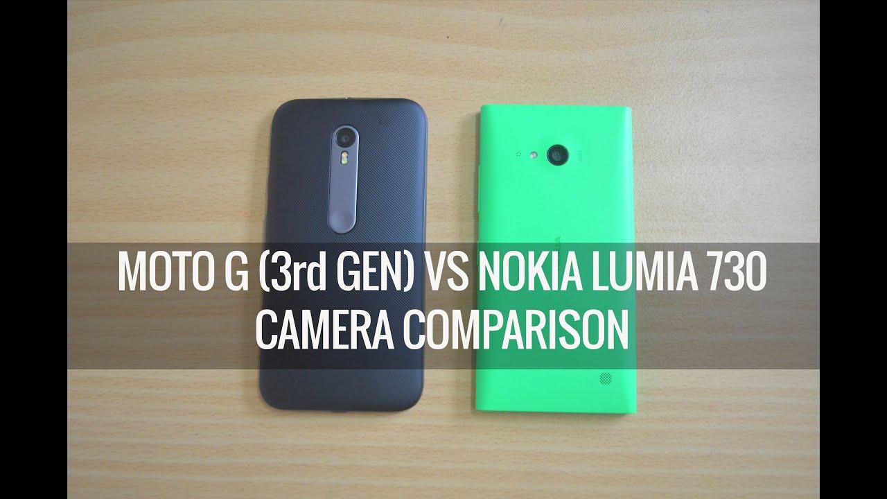 Nokia lumia 830 x moto g