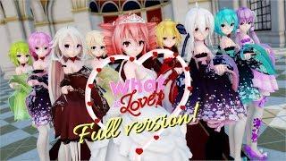 【MMD】TWICE - What is Love?【Full version, 47 models】[4K UHD]