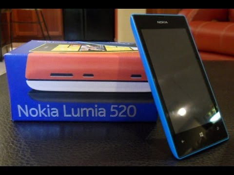 Nokia Lumia 520 Unboxing and 1 Month Review