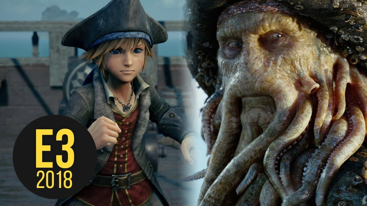 Davy Jones In Kingdom Hearts 3 - E3 2018