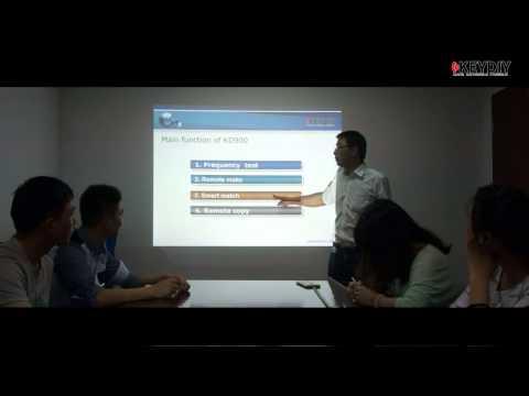 KD900 training video