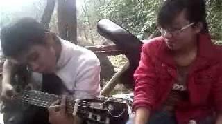 Chào em cô gái Lam Hồng - fun guitar cover
