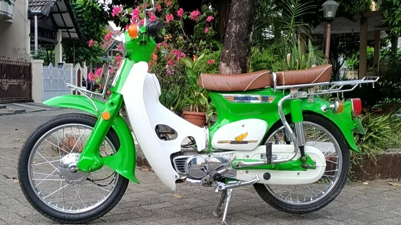 MODIFIKASI HONDA C70 ORIGINAL (Back To Classic)
