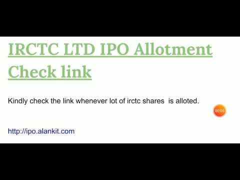 irctc-ipo-allotment-checking-link
