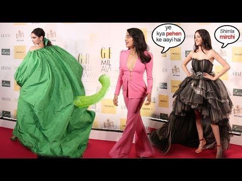 See Bollywood Celebs Arriving At Grazia Style Awards 2019-Deepika Padukone,Jhanvi Kapoor,Ananya