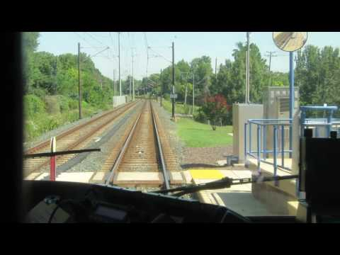 Riding The  Baltimore Light Rail To Hunt Valley Mall