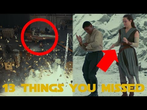 Thumbnail: Star Wars: The Last Jedi | Behind The Scenes - 13 Things You Missed (SPOILERS)