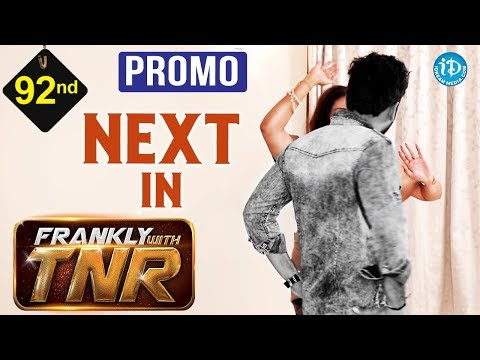 Actress Namitha & Veera Exclusive Interview - Promo || Frankly With TNR #92 | Talking Movies