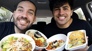 MASSIVE MODERN MEXICAN MUKBANG with TODDY SMITH!!