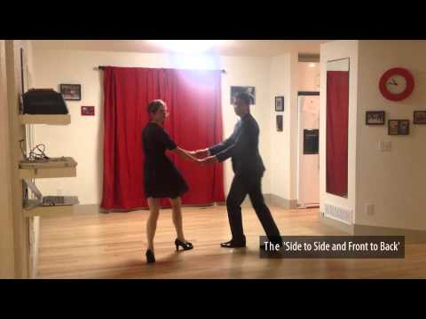Learn to Swing Dance | Level 1 Lesson 1 (Lindy Hop) | Lindy Ladder | Shauna Marble