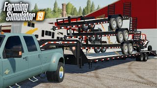 FS19- TRAILERS FOR SALE! BUILDING A TRAILER DEALERSHIP NEXT TO ROLLING COAL CUSTOMS!